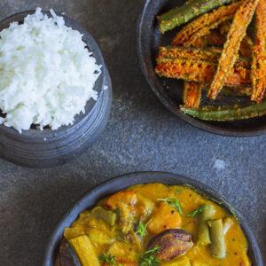 Dalma + Rice + VegFry