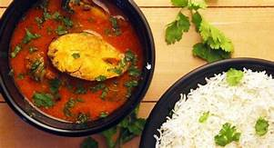 Fish Curry+Rice