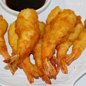 Golden Fried Prawn
