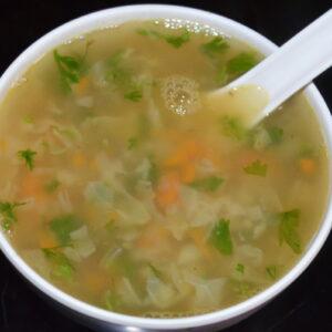 Lemon Coriander Soup Full